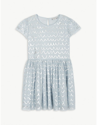 Stella McCartney Metallic tulle dress 4-12 years