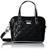 GUESS Jordyn Mini Dome Satchel-Black