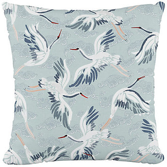 One Kings Lane Brookville 20x20 Pillow - Cranes