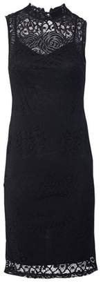 Dorothy Perkins Womens *Izabel London Black Lace Bodycon Dress, Black