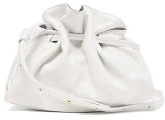 Mansur Gavriel Protea Mini Drawstring Leather Bag - Womens - White