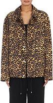Alexander Wang Women's Leopard-Print Boxy Jacket-BROWN, NO COLOR