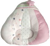 Panda Superstore Toddle Pillow Infant Baby Protective Flat Head Anti-roll Head Suppor