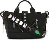 Kenzo Kalifornia x Badges small Gommato leather shoulder bag