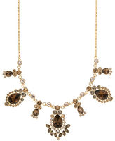 Givenchy Topaz and Crystal Frontal Necklace