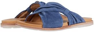 Kork-Ease Zel (Dark Blue Suede) Women's Sandals