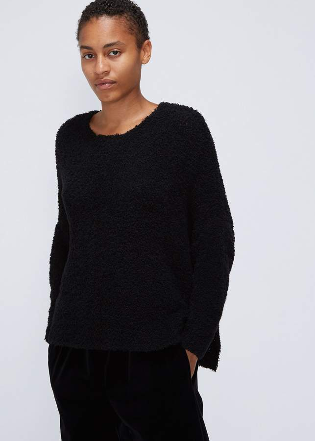 Oyuna Textured Fringe Pullover