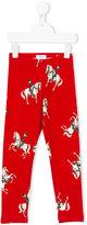 MonnaLisa horserider print leggings