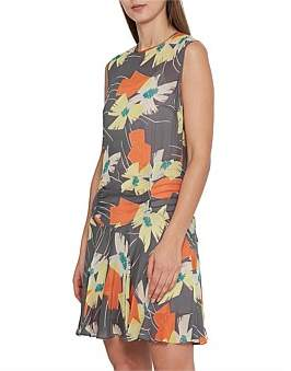 Reiss Remi Floral Printed Dress