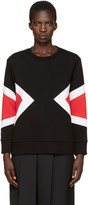Neil Barrett Black Modernist Pullover