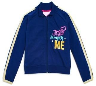 Danskin Jojo Siwa By Jojo Siwa by Girls Simply Me Long Sleeve Warm Up Jacket (Little Girls & Big Girls)