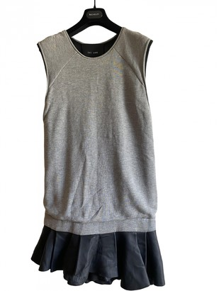 Jay Ahr Grey Leather Dress for Women