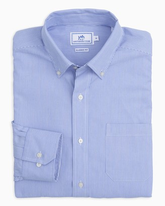 Southern Tide Wedgewood Stripe Button Down Shirt