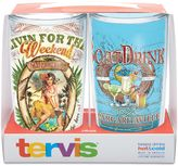 """Tervis Livin For The Weekend"""" and """"Boat Drink"""" Margaritaville Wrap Tumblers (Set of 2)"""