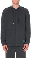 HUGO BOSS Logo-detail cotton hoody