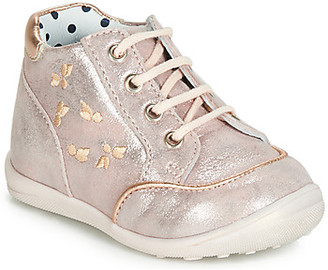 Catimini BALI girls's Shoes (High-top Trainers) in Pink