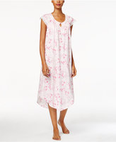 Charter Club Floral-Print Knit Nightgown, Only at Macy's