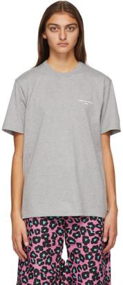 Comme des Garçons Homme Plus Grey Logo T-Shirt