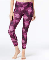 Gaiam Om Willa Printed Cropped Leggings