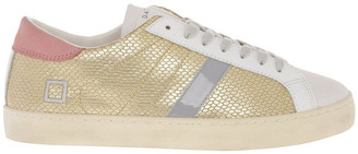 D.A.T.E Hill Low Roof Platinum Sneaker