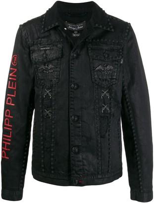 Philipp Plein Stud Denim Jacket
