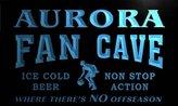 AdvPro Name td2106-b Aurora Basketball Fan Cave Man Room Bar Beer Neon Light Sign