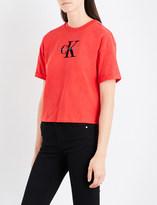 Calvin Klein Teco-11 True Icon cotton-jersey T-shirt