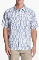 Quiksilver Waterman 'Wavelength' Linen Sport Shirt