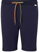 Paul Smith Cotton Jersey Lounge Shorts, Navy