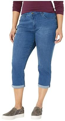 NYDJ, Plus Size NYDJ Plus Size Plus Size Chloe Capri Jeans in Market (Market) Women's Jeans