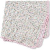 Ralph Lauren Girls' Reversible Baby Blanket