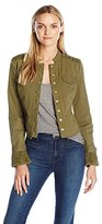 Juicy Couture Black Label Women's HW Military Twill Jacket