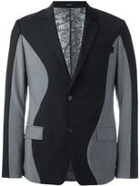 Kenzo bicolour blazer - men - Cotton/Acetate/Mohair/Wool - 48