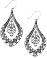 Lucky Brand Silvertone Drop Pendant Earrings