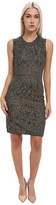 M Missoni Lured Two-Tone Marble Knit Sleeveless Dress