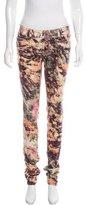 Barbara Bui Printed Skinny Jeans w/ Tags