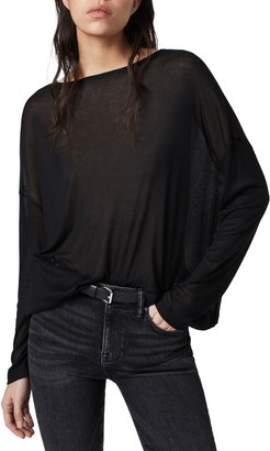 AllSaints Francesco Rita Long Sleeve T-Shirt
