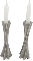 N. Star Twisted Candle Holders