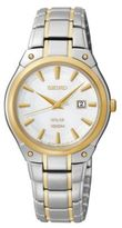 Seiko Ladies Two-Tone Solar Bracelet Watch