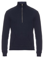Maison Margiela Funnel-neck zip-front sweater