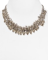 ABS by Allen Schwartz Smoky Cluster Necklace, 16""