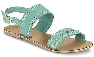 Betty London IKARI women's Sandals in Blue