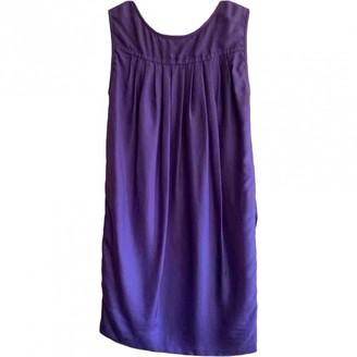 Yigal Azrouel Purple Silk Dress for Women