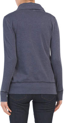 Fleece Sweater Jacket With Side Pockets