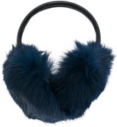 Yves Salomon fur-lined ear muffs