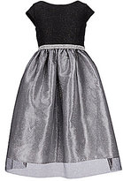 Jayne Copeland Big Girls 7-12 Tulle-Overlay-Skirted Colorblock Ballgown
