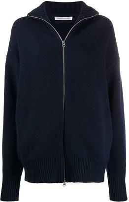 Extreme Cashmere Zipped-Up Cardigan