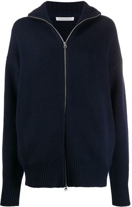 Extreme Cashmere Zipped-Up Cardigan