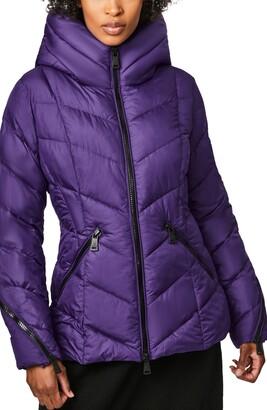 Bernardo Water Resistant Hooded Puffer Coat