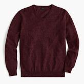J.Crew Tall rugged cotton V-neck sweater